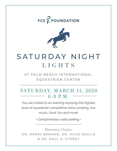 Saturday Night Lights invitation