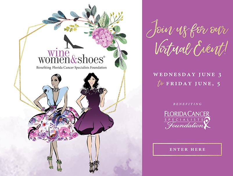Wine Women Shoes 2020 virtual event