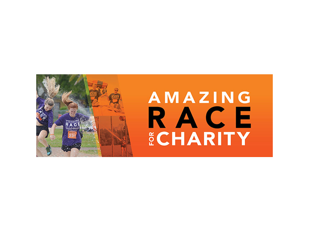 Amazing Race for Charity logo