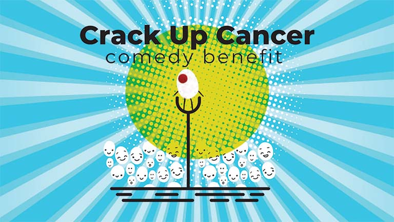 Crack Up Cancer logo