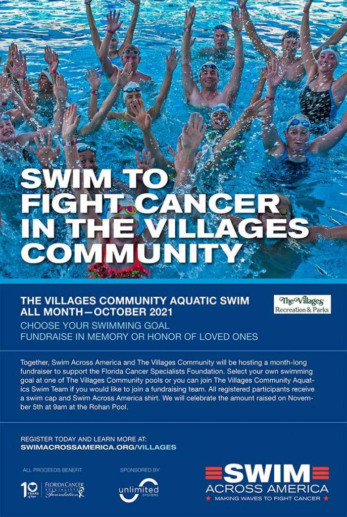 Swim Across America poster